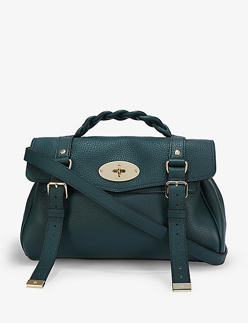 MULBERRY: Alexa leather satchel bag