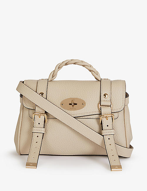 MULBERRY: Alexa mini leather satchel bag