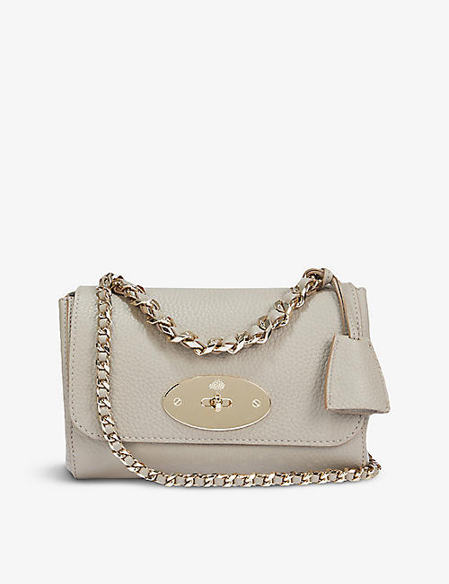 MULBERRY: Lily grained-leather top-handle bag