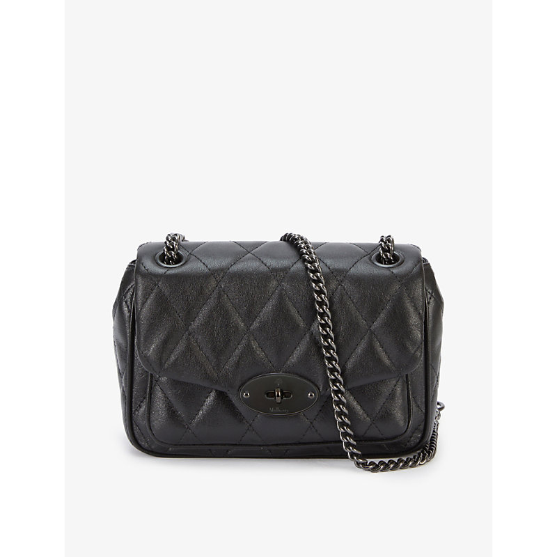 Mulberry MINI DARLEY QUILTED LEATHER SHOULDER BAG
