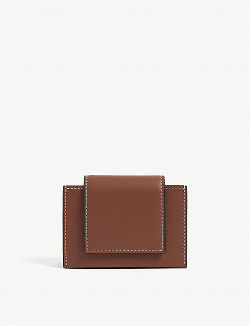 BYREDO: Umbrella leather wallet