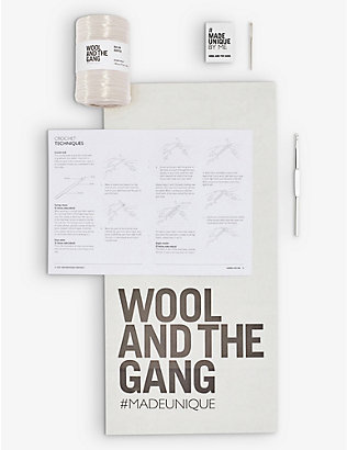 WOOL AND THE GANG: Vincente bag crochet kit