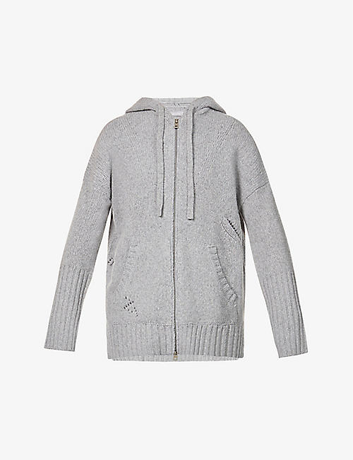 ZADIG&VOLTAIRE: Salma relaxed-fit wool-blend cardigan