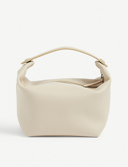THE ROW: Les Bains leather tote bag