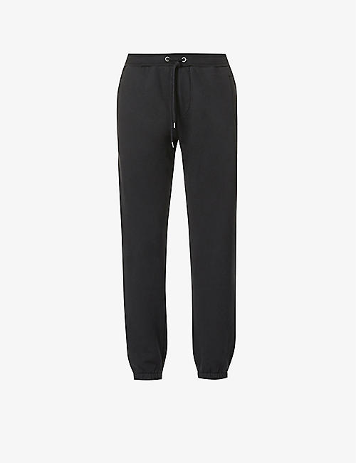 FRAME: Camp tapered cotton-jersey jogging bottoms