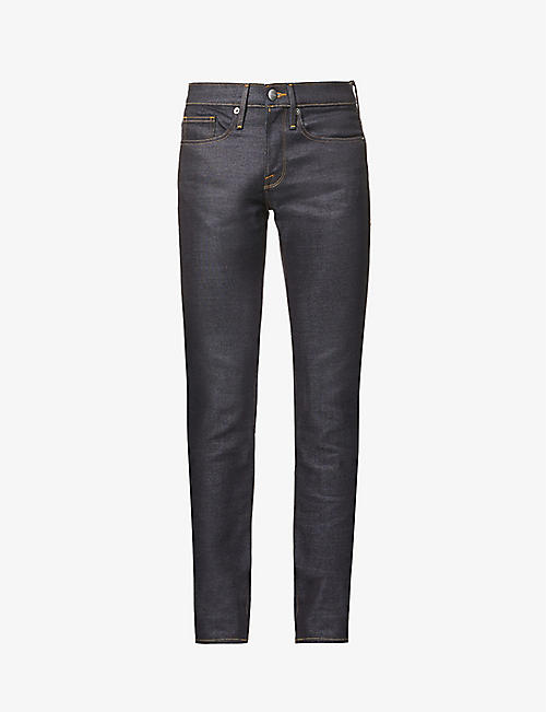 FRAME: L'Homme slim-fit stretch-denim jeans