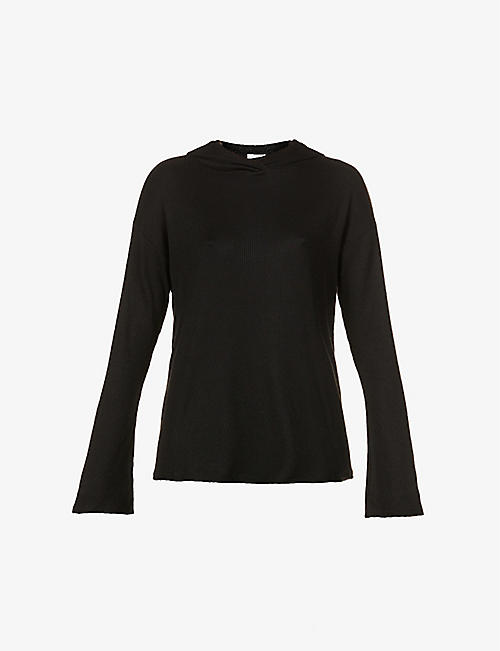 RAG & BONE: The Knit relaxed-fit stretch-jersey hoody