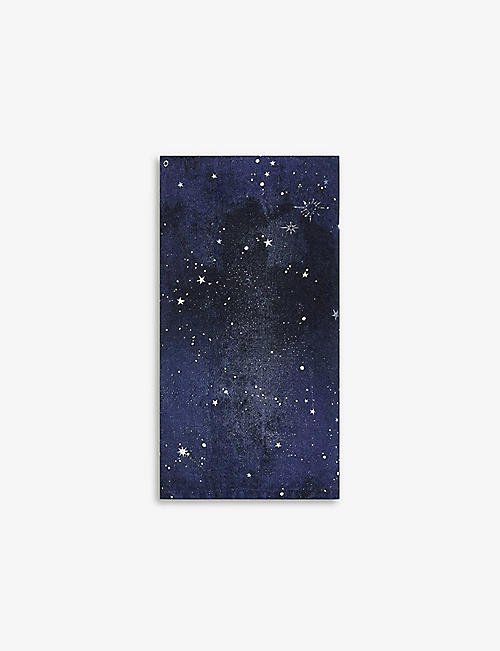 SUMMERILL AND BISHOP: Constellation linen napkin 50cm x 50cm