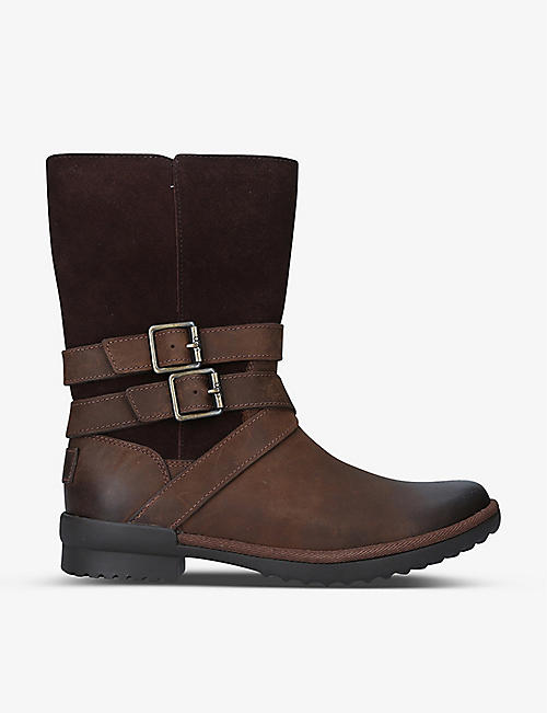 UGG: Lorna leather boots