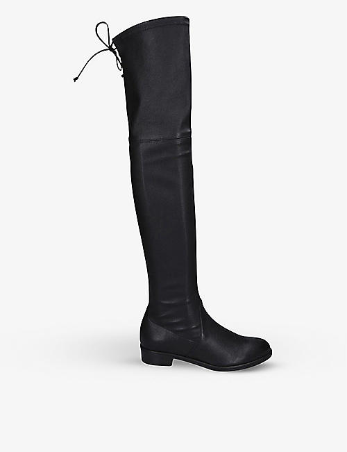 STUART WEITZMAN: Lowland leather thigh-high boots
