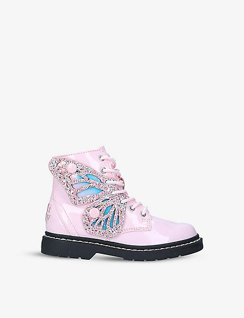 LELLI KELLY: Fairy Wings leather boots 4-9 years