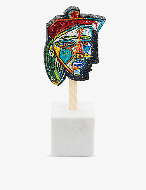 THE DAN LIFE: Hommage A Picasso resin and crystal sculpture 20.3cm