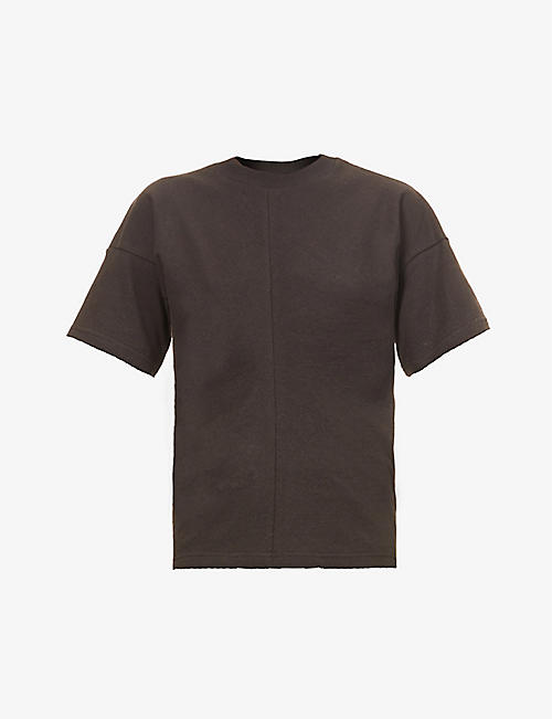 BOTTEGA VENETA: Scoop-neck relaxed-fit cotton-jersey T-shirt