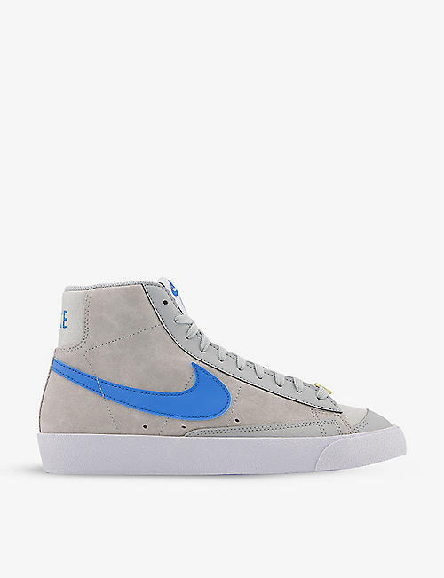 NIKE: Blazer 77 mid-top suede trainers