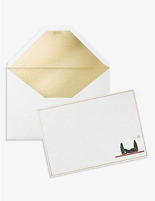 CARTIER: Panthére de Cartier cards and envelopes set of 15