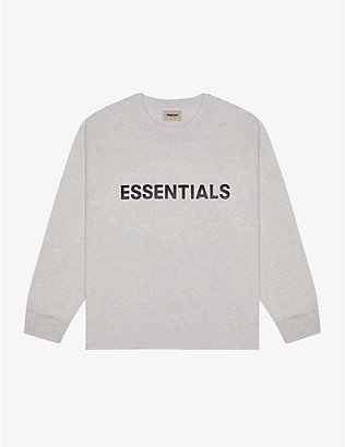 FOG X ESSENTIALS: ESSENTIALS Core brand-print cotton-jersey T-shirt