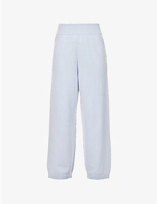 BARRIE: Relaxed-fit mid-rise cashmere jogging bottoms