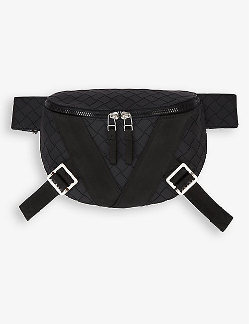 BOTTEGA VENETA: V-motif zipped leather belt bag