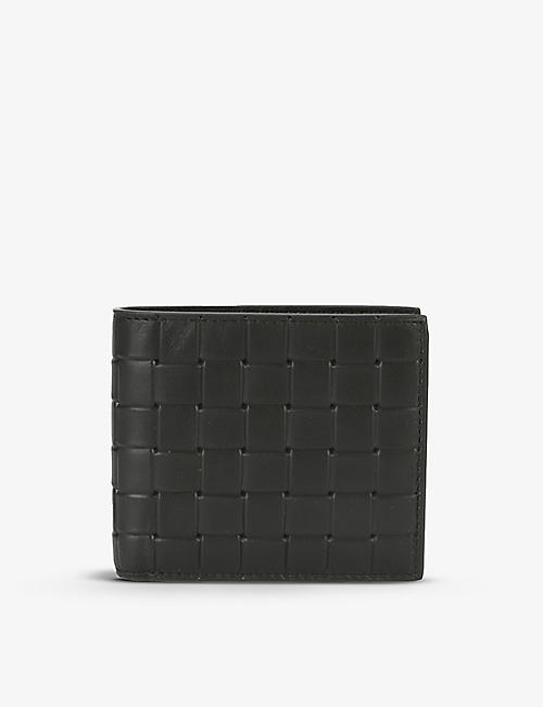 BOTTEGA VENETA: Intrecciato leather billfold wallet