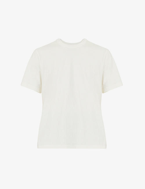 BOTTEGA VENETA: Crewneck relaxed-fit cotton-jersey T-shirt