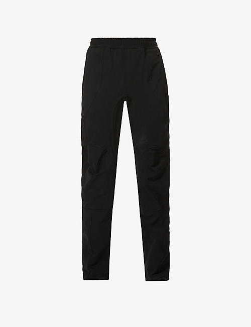 BOTTEGA VENETA: Elasticated relaxed-fit stretch-woven trousers