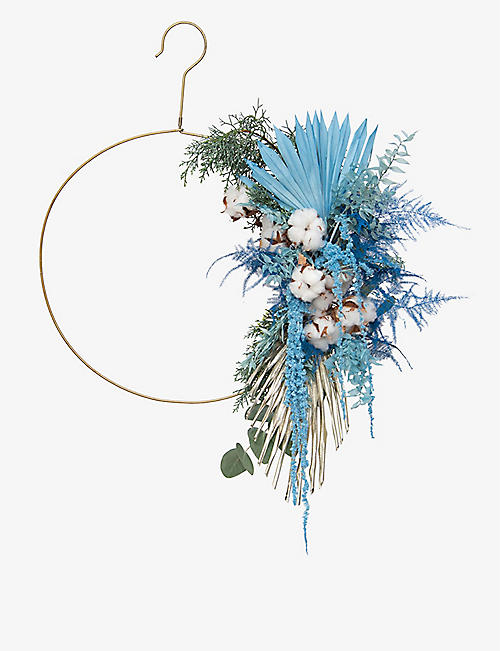 YOUR LONDON FLORIST: Exclusive Frosty Blink dried wreath