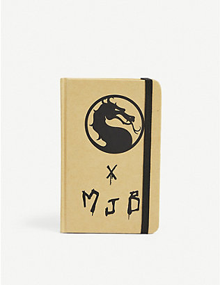 MJB - MARC JACQUES BURTON: MJB - Marc Jacques Burton x Mortal Kombat recycled paper notebook A6