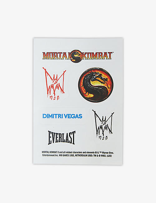MJB - MARC JACQUES BURTON: MJB - Marc Jacques Burton x Mortal Kombat stickers