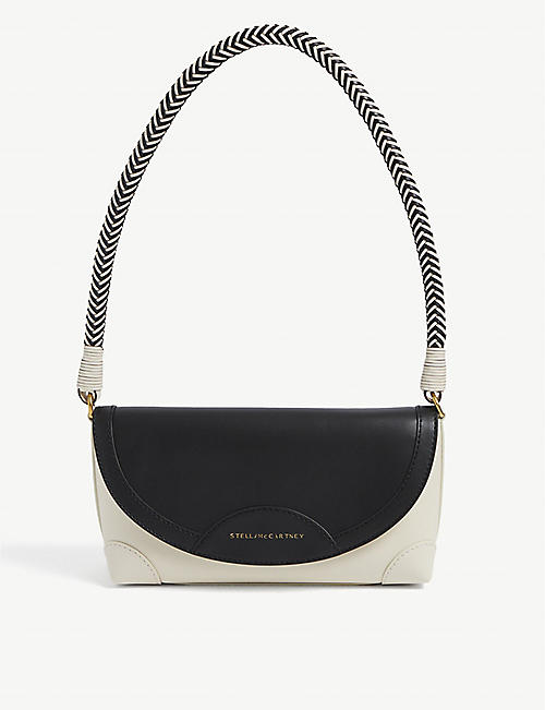 STELLA MCCARTNEY: Doctor small vegan-leather shoulder bag