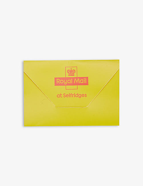 ROYAL MAIL: Selfridges x Royal Mail standard 1st class stamps pack of six