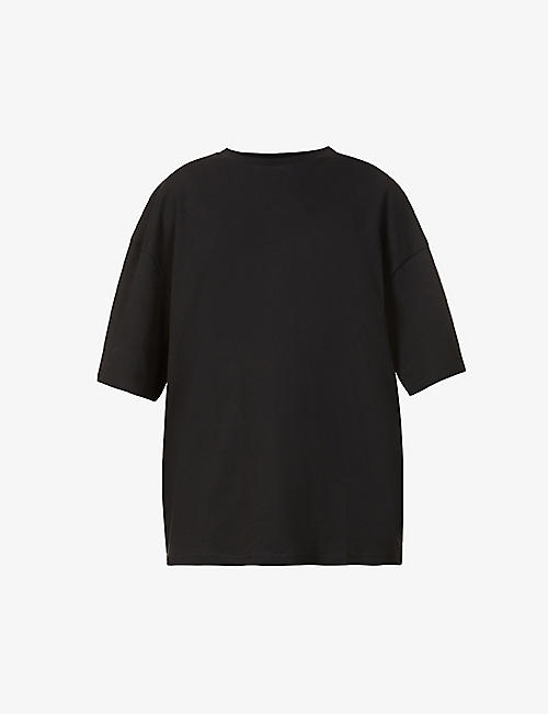 FENTY: Graphic-print oversized cotton-jersey T-shirt