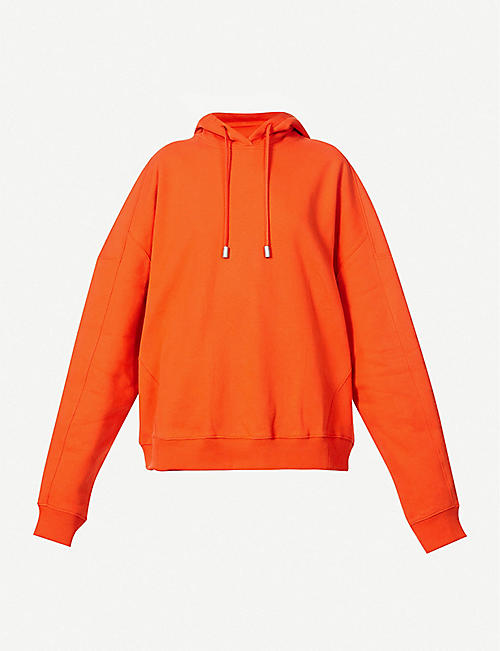 FENTY: Graphic-print oversized cotton-jersey hoody