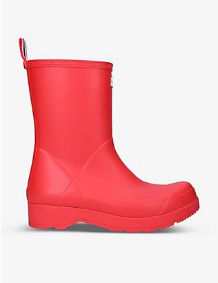 HUNTER: Original Play mid-top rubber wellington boots