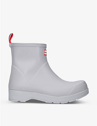 HUNTER: Original Play short rubber wellington boots