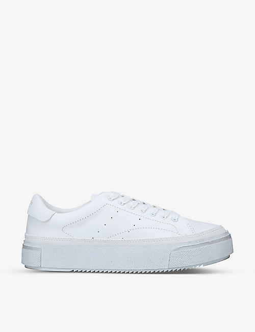 ALLSAINTS: Trish leather trainers