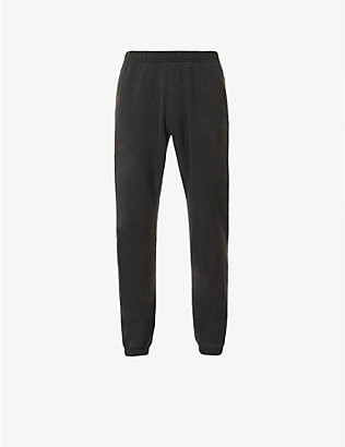 ERL: Faded relaxed-fit cotton-blend jogging bottoms