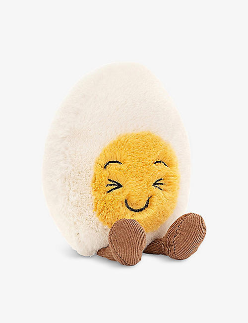 JELLYCAT: Amuseable Laughing Boiled Egg soft toy 14cm