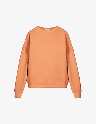 THE ODDER SIDE: Billy cotton-jersey sweatshirt