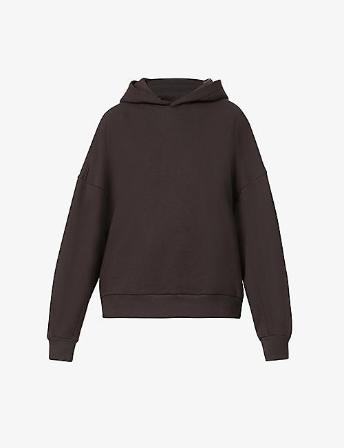 THE ODDER SIDE: Franco relaxed-fit cotton-jersey hoody