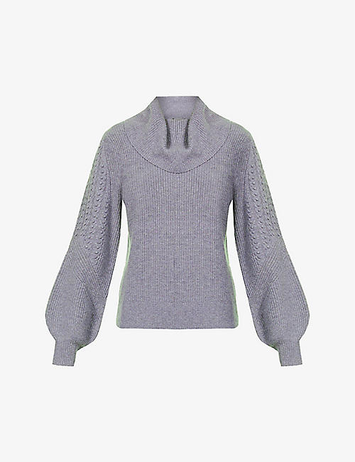 PAIGE: Bernadetta turtleneck wool-blend jumper