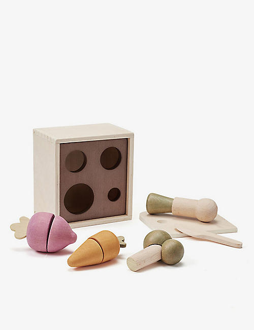 KIDS CONCEPT: Bistro wooden plant box set