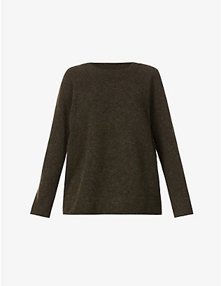 SAMSOE SAMSOE: Nor relaxed-fit knitted jumper