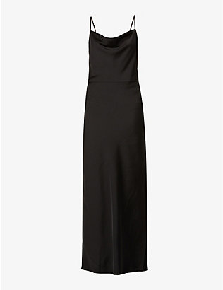 SAMSOE SAMSOE: Apples cut-out woven maxi dress