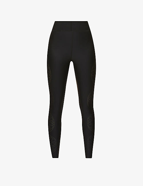ULTRACOR: Go Round high-rise stretch-jersey leggings