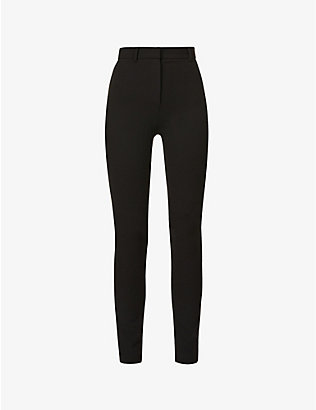 MAGDA BUTRYM: Skinny high-rise stretch-wool trousers