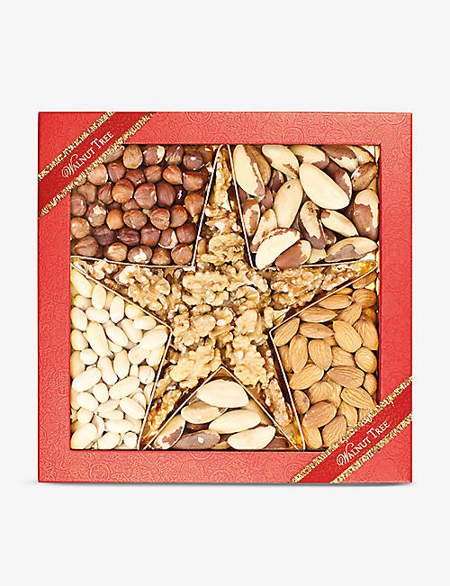 WALNUT TREE: Star assorted nut box 400g