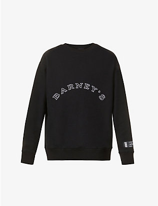 KROST: KROST X Barneys New York The Giving Tree cotton-jersey sweatshirt