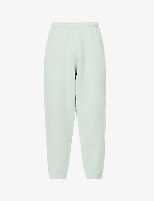 NIKE: Logo-embroidered cotton-blend jogging bottoms