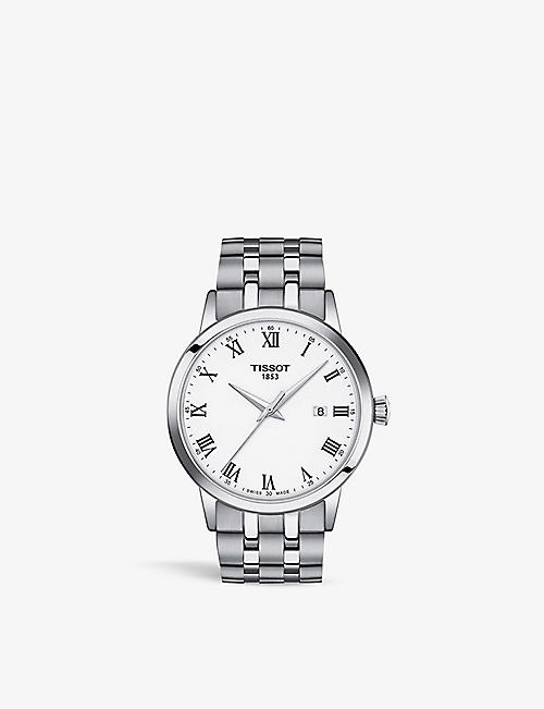 TISSOT: T1294101101300 Classic Dream 316L stainless steel quartz watch