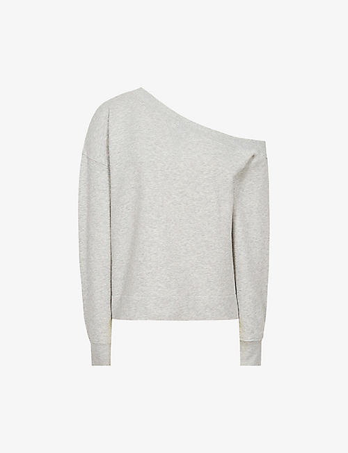 REISS: Poppy cotton-jersey sweatshirt